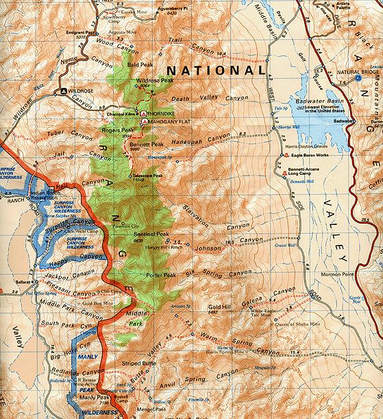 MAPS | Death Valley Journal